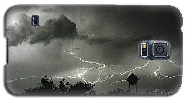 Galaxy S5 Case featuring the photograph Caution Signs by J L Woody Wooden
