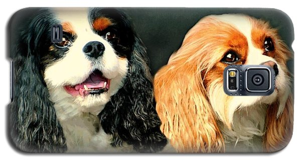 Cavalier King Charles Galaxy S5 Case by Diana Angstadt