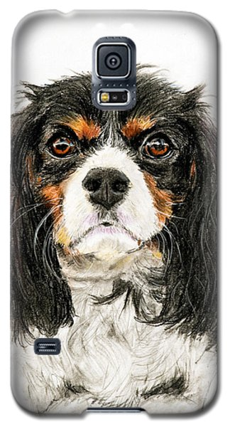 Cavalier King Charles Spaniel Painting Galaxy S5 Case