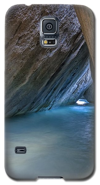 Cave At The Baths Galaxy S5 Case by Adam Romanowicz