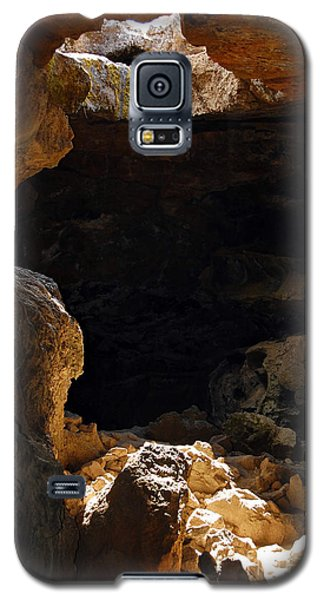 Galaxy S5 Case featuring the photograph Cave Light by Debra Thompson