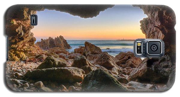 Beachside Cave Galaxy S5 Case