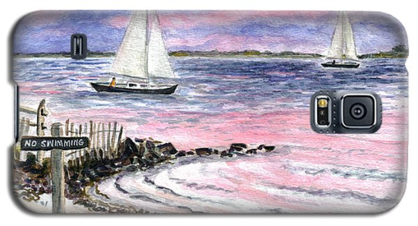 Cedar Beach Pinks Galaxy S5 Case