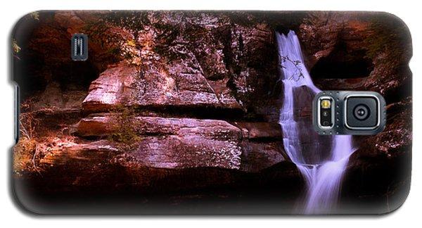 Galaxy S5 Case featuring the photograph Cedar Falls by Haren Images- Kriss Haren