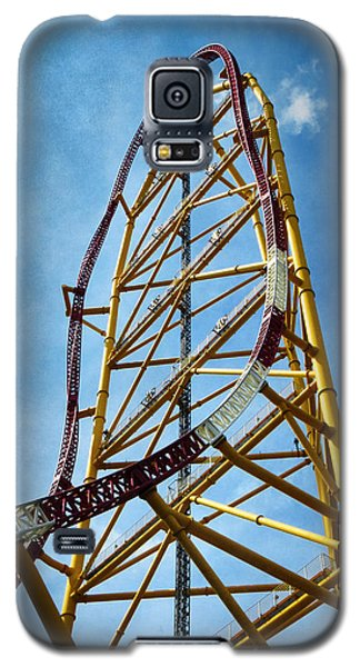 Cedar Point - Top Thrill Dragster Galaxy S5 Case by Shawna Rowe