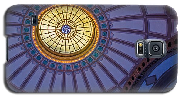 Galaxy S5 Case featuring the photograph Ceiling In The Chattanooga Choo Choo Train Depot by Susan  McMenamin