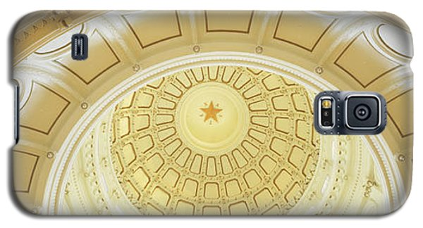 Ceiling Of The Dome Of The Texas State Galaxy S5 Case by Panoramic Images