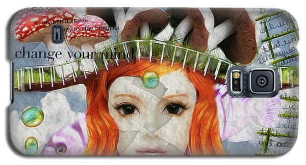 Galaxy S5 Case featuring the digital art Celebrate Who You Are by Barbara Orenya