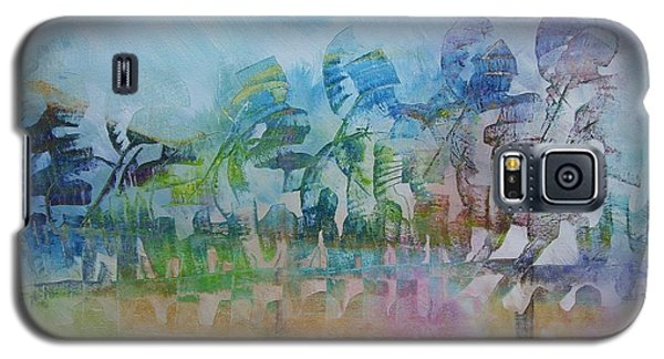 Galaxy S5 Case featuring the painting Celebrating Victory by Nereida Rodriguez