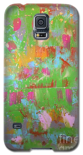 Celebration In Green Galaxy S5 Case