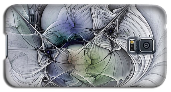 Celestial Sphere Abstract Art Galaxy S5 Case