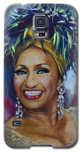 Celia Cruz Galaxy S5 Case