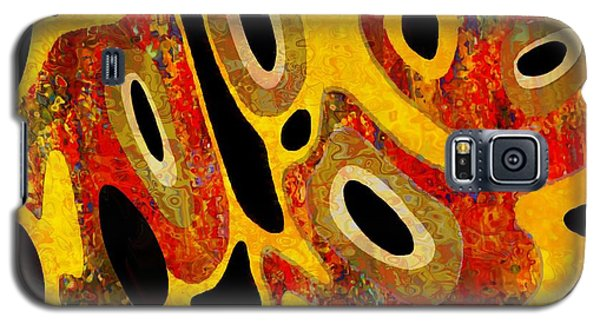 Galaxy S5 Case featuring the painting Cell Core 1 by Jann Paxton