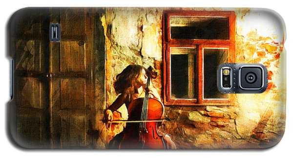 Cellist By Night Galaxy S5 Case