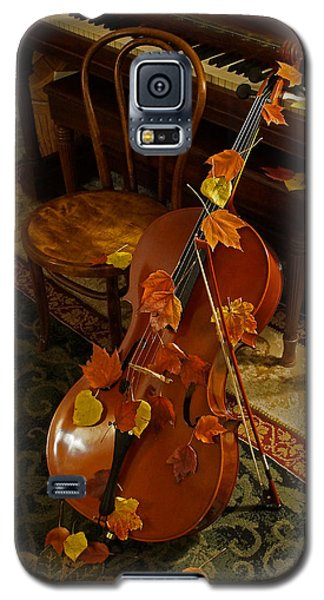 Cello Autumn 1 Galaxy S5 Case by Mick Anderson