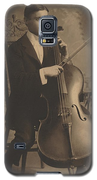 Cello Recital 1890s Galaxy S5 Case by Paul Ashby Antique Image