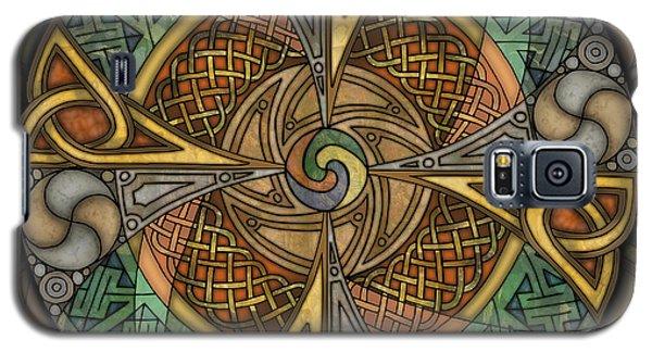 Celtic Aperture Mandala Galaxy S5 Case by Kristen Fox