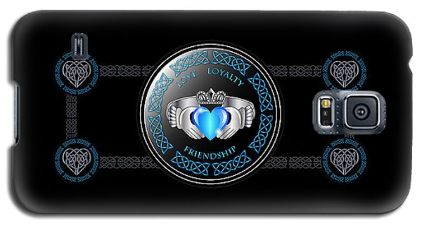 Celtic Claddagh Ring Galaxy S5 Case by Ireland Calling