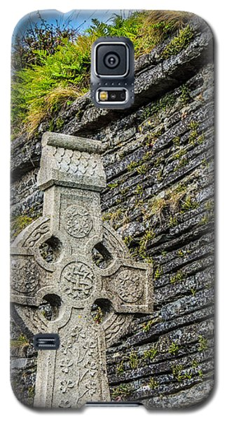 Celtic Cross At Kilmurry-ibrickan Church Galaxy S5 Case