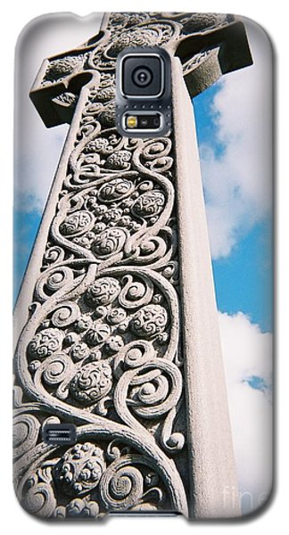 Art Nouveau Celtic Cross I Galaxy S5 Case by Peter Gumaer Ogden
