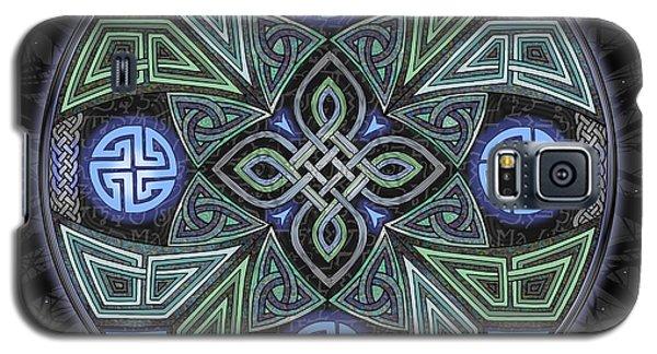 Celtic Ufo Mandala Galaxy S5 Case by Kristen Fox