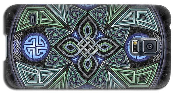 Celtic Ufo Mandala Galaxy S5 Case