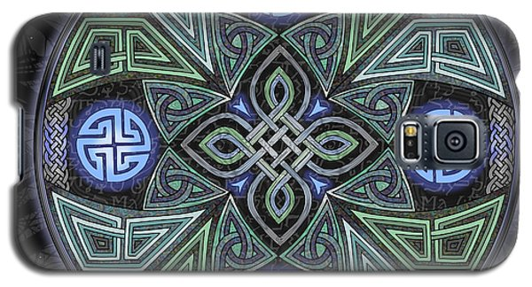 Celtic Ufo Mandala Galaxy S5 Case