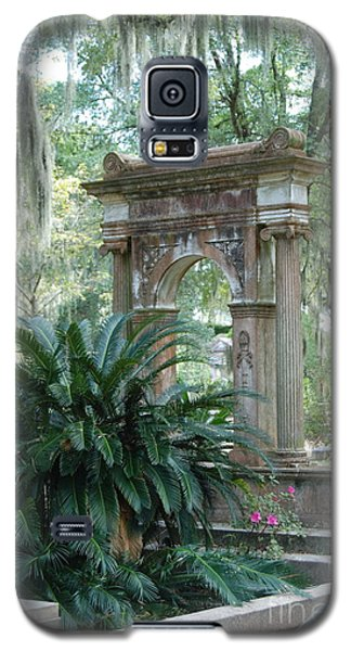 Galaxy S5 Case featuring the photograph Cemetary by Kathy Gibbons