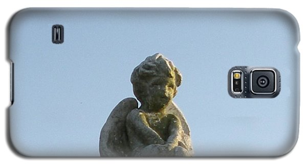 Galaxy S5 Case featuring the photograph Cemetery Cherub by Joseph Baril