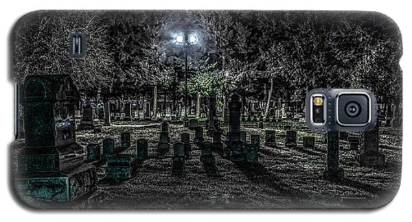 Cemetery  Galaxy S5 Case by Ray Congrove
