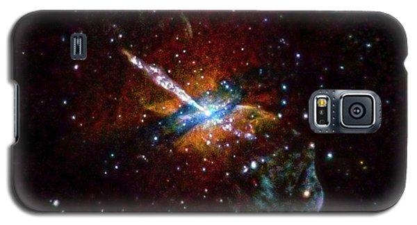 Centaurus A Galaxy S5 Case by Nasa/cxc/u.birmingham/m.burke Et Al