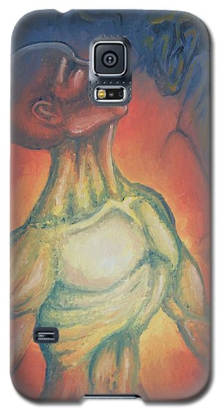 Center Flow Galaxy S5 Case by Michael  TMAD Finney