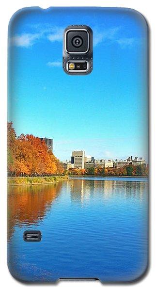 Central Park Autumn Landscape Galaxy S5 Case