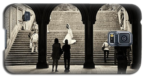 Central Park Bride Galaxy S5 Case by Madeline Ellis