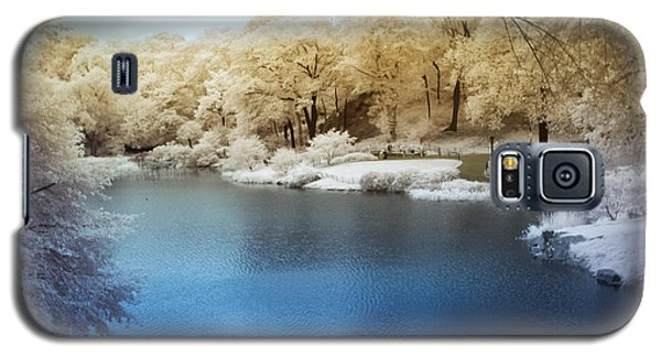 Central Park Lake Infrared Galaxy S5 Case