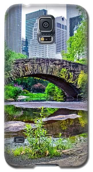 Central Park Nature Oasis Galaxy S5 Case