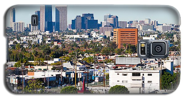 Century City, Beverly Hills, Wilshire Galaxy S5 Case by Panoramic Images