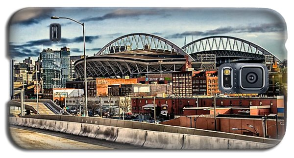 Galaxy S5 Case featuring the photograph Century Link Field Seattle Washington by Michael Rogers