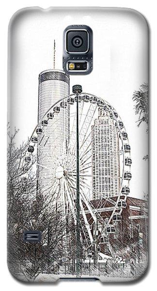Centennial Park Atlanta  Ga Galaxy S5 Case