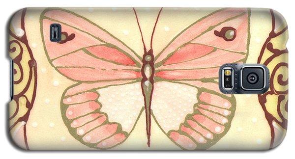 Ceramic Butterfly 2 Galaxy S5 Case