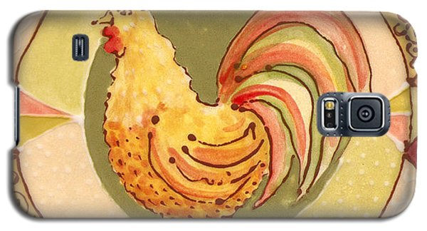 Ceramic Rooster Galaxy S5 Case