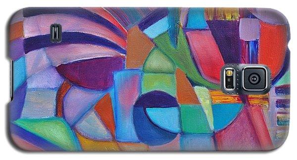 Galaxy S5 Case featuring the painting Cerebral Decor # 2 by Jason Williamson