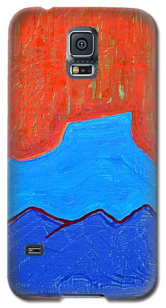 Cerro Pedernal Original Painting Sold Galaxy S5 Case