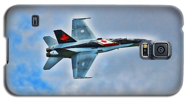 Galaxy S5 Case featuring the photograph Cf18 Hornet  by Cathy  Beharriell