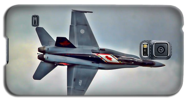 Cf18 Hornet Topview Flying Galaxy S5 Case by Cathy  Beharriell
