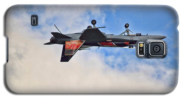 Cf18 Hornet Upside Down Fly By  Galaxy S5 Case by Cathy  Beharriell