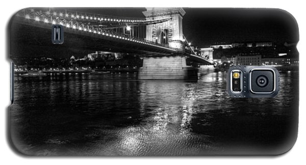 Chain Bridge Danube River Galaxy S5 Case