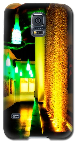 Chain Lighting Galaxy S5 Case by Melinda Ledsome
