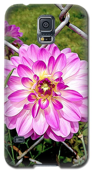 Chain Link Bloom Galaxy S5 Case