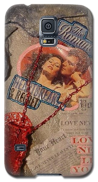 Galaxy S5 Case featuring the painting Chains Of Love by Lisa Piper